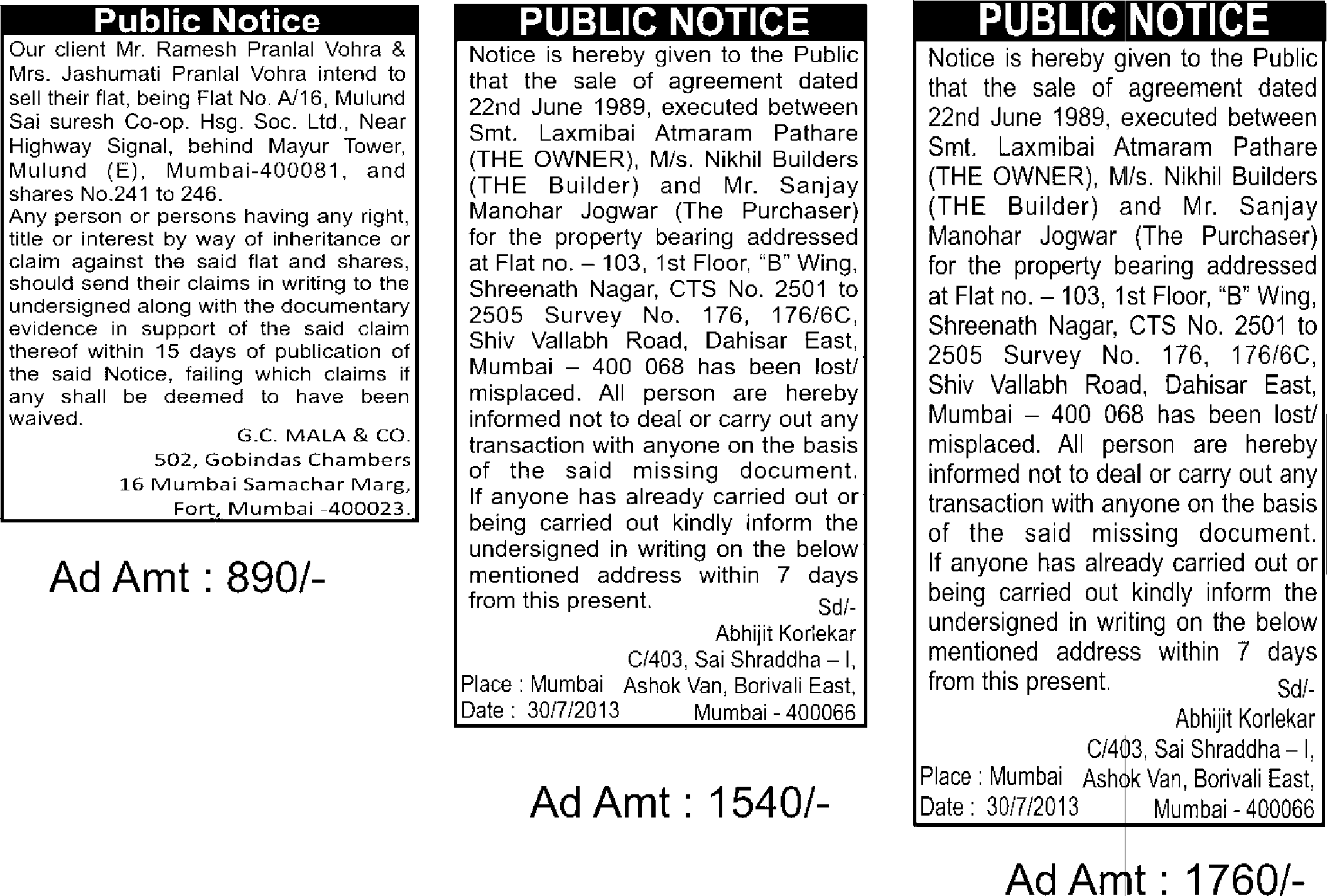 public notice newspaper - public-notice